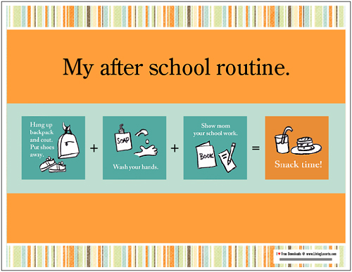 Schooling extension of duration routine and