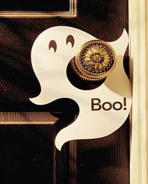 Halloween decoraci n de ltima hora escarabajos bichos - Decoracion de puertas para halloween ...
