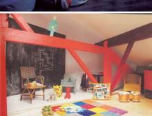 paredes de pizarra: permitido pintar en la pared