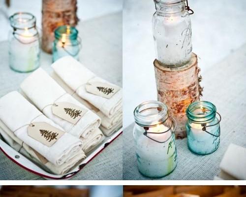 mesa-decorada-para-fiesta-inviernto-con-manzanas-rojas-mantel-de-lino-blanco