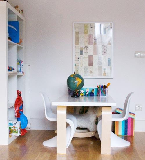 Mesas de estudio para hacer los deberes escarabajos - Sillas de estudio para ninos ...