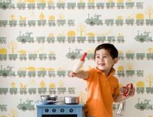 Una de papeles pintados para niños