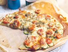 ¿qué hay de cenar? | Pizza de verduras
