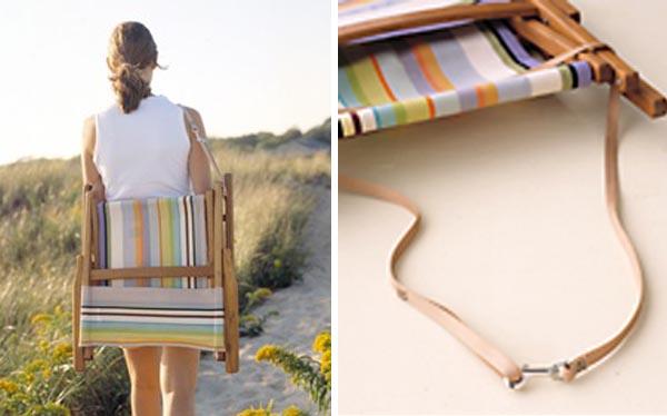 Summertime silla de playa de madera summertime - Sillas de playa ...