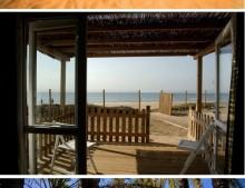 bungalows a pie de playa: camping las palmeras