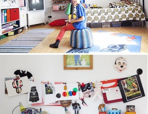 habitacion infantil para niño mayor