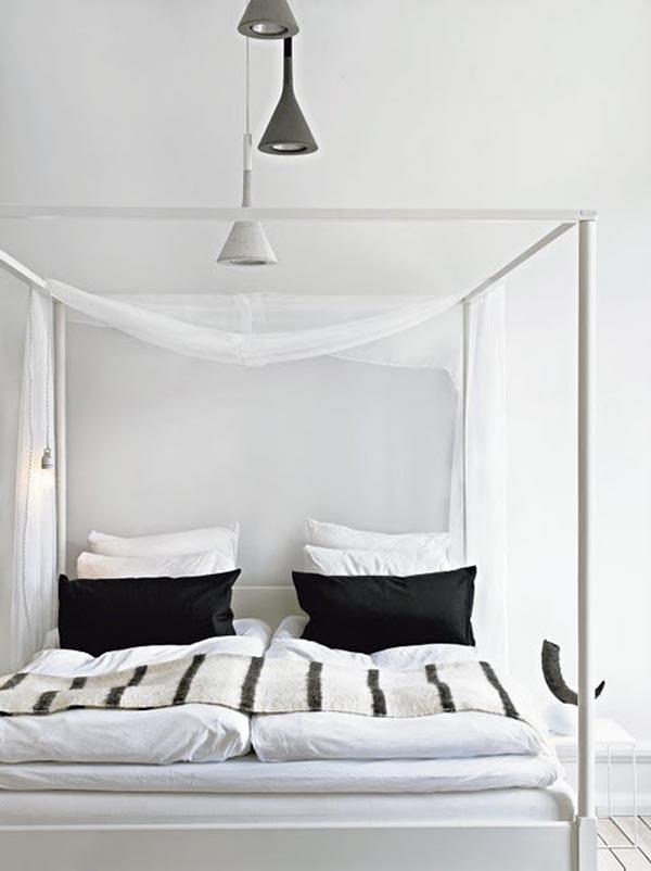 cama con dosel