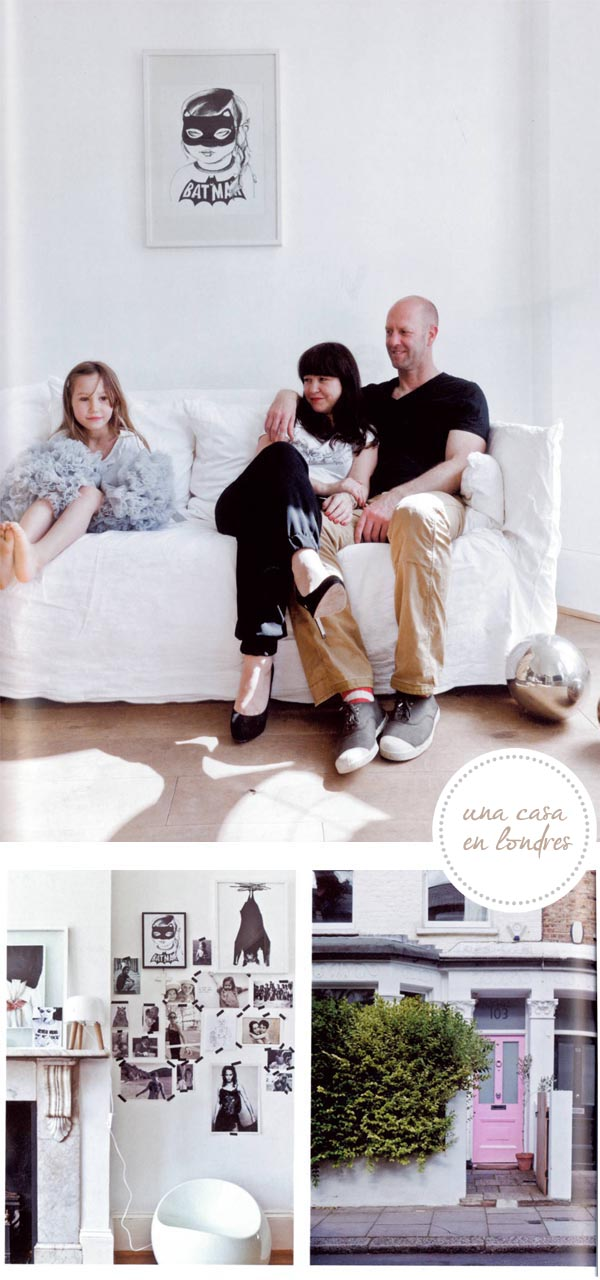 casa de body and fou en la revista milk london