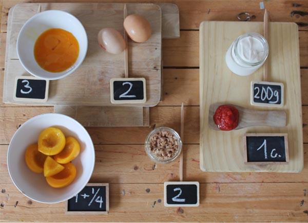 ingredientes pastel