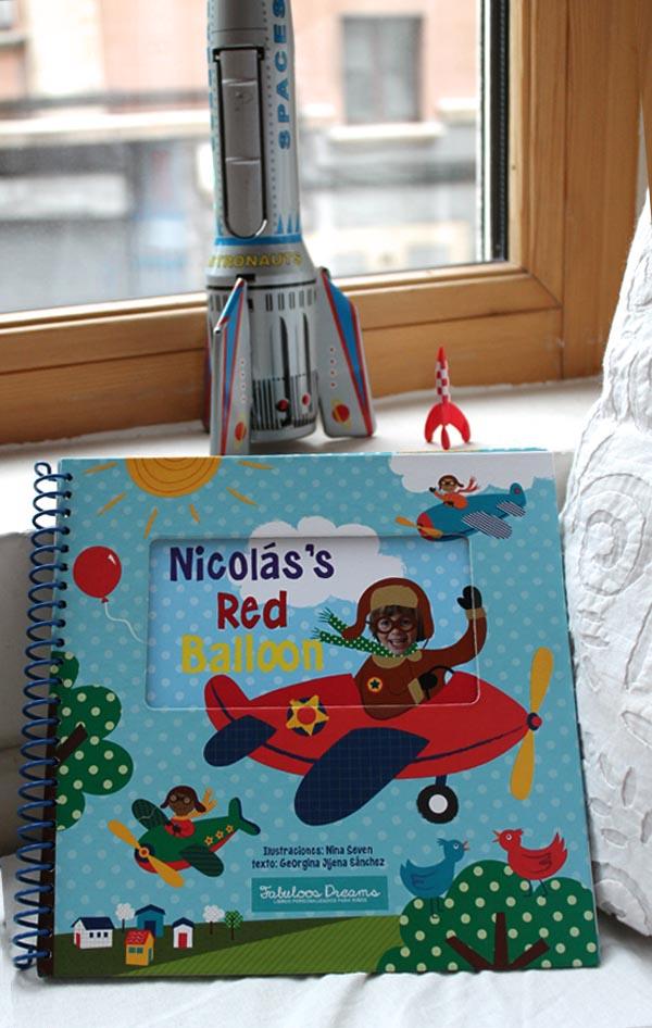 libro presonalizado para niños