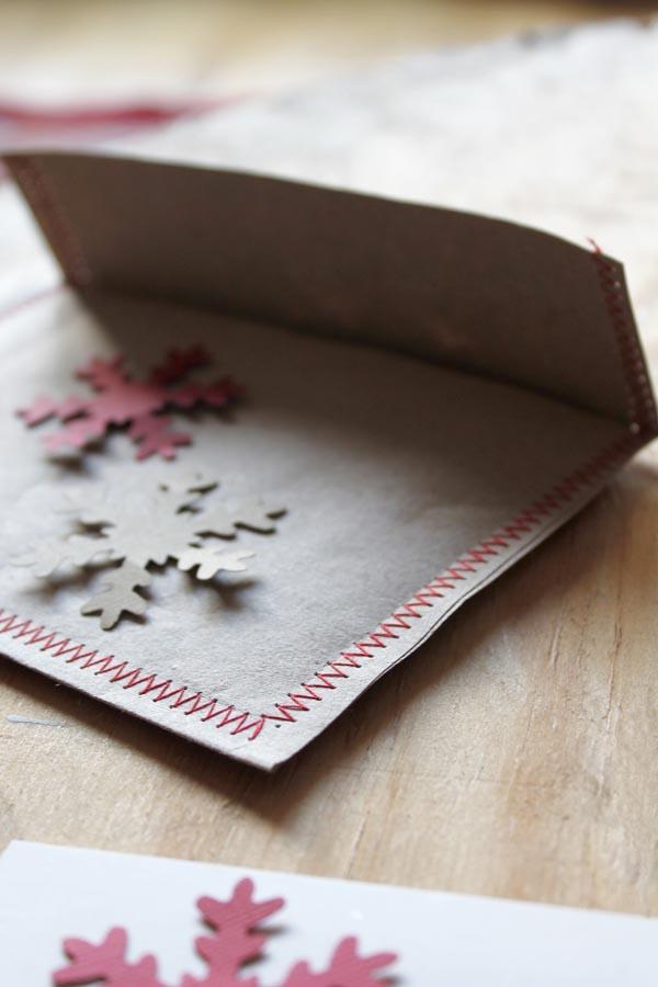 Haz tus tarjetas de navidad escarabajos bichos y mariposas - Tarjetas de navidad originales ...