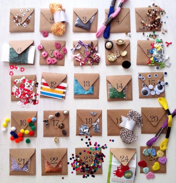 Calendarios de adviento escarabajos bichos y mariposas for Calendario adviento ninos