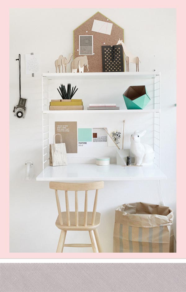 La string esa estanteria escarabajos bichos y mariposas - Estanterias de pared infantiles ...