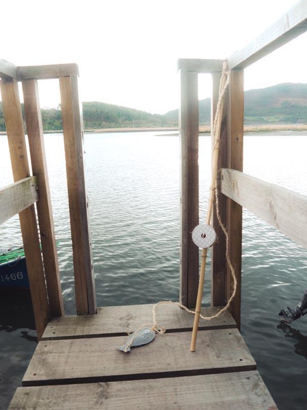 caña pescar bambu