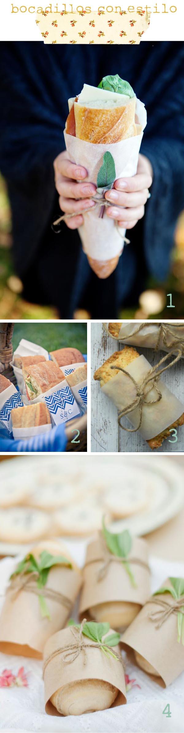 ideas para picnic bocadillos