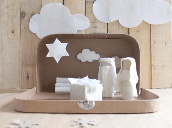 belen diy con tc with ideas originales para navidad