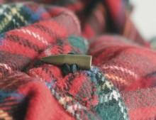 Mi poncho escocés