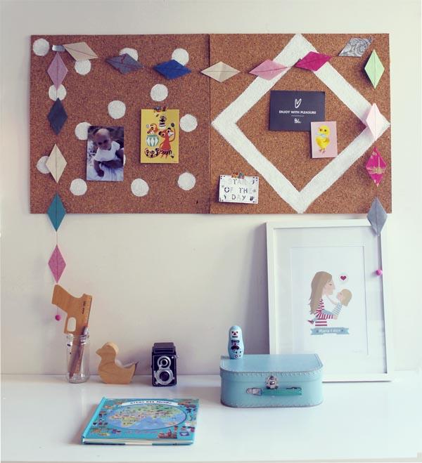Diy decorar un corcho escarabajos bichos y mariposas - Planchas de corcho para revestir paredes ...