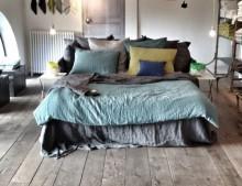 Ropa de cama de lino. Me encanta!