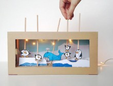 Juguetes de cartón: DIY