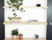 DIY: estanteria con cuerdas