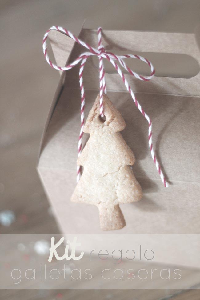 kit de galletas navidad para regalar