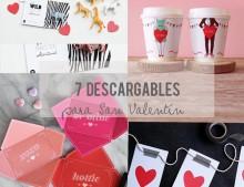 7 Descargables San Valentín. Gratis!
