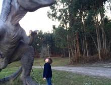 Asturias con niños: Lastres y los dinosaurios