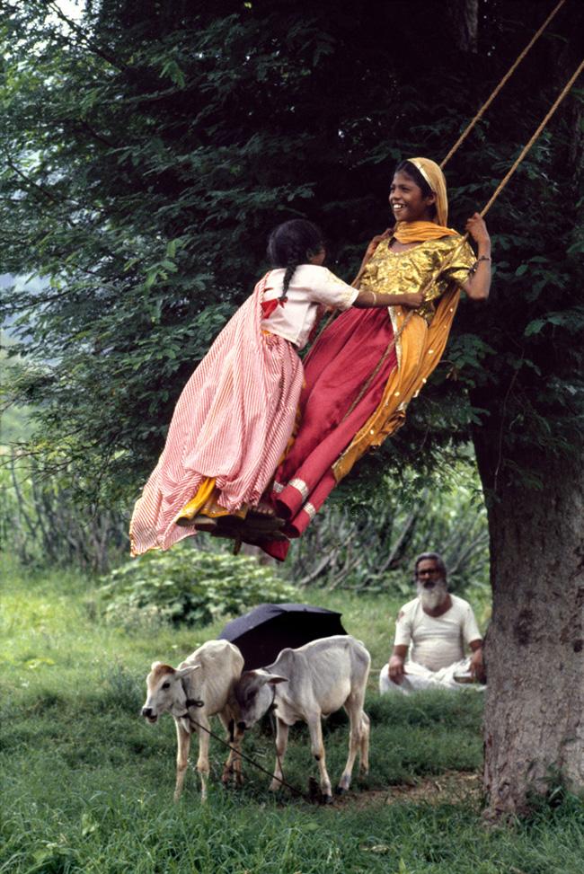 00535_20, India, Rajasthan, Monsoons, 08/1983