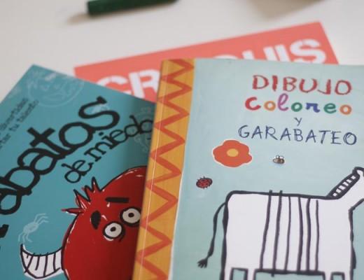 libros dibujar