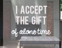 Lo bueno que tiene hacer cosas solo