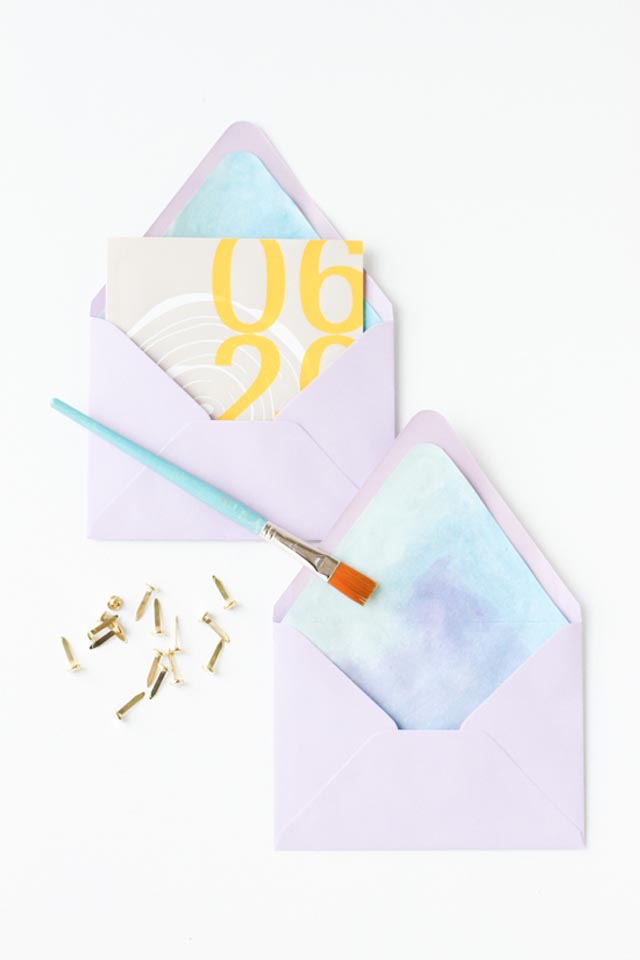 how-to-make-watercolor-envelope-liners