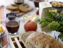 Desayunar en casa de amigas, es un buen desayunar!
