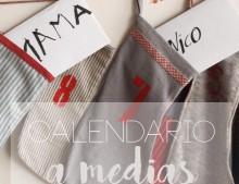 """Calendario de adviento """"a medias"""""""