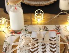 Una mesa de Navidad para los niños