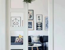 Una casa con detalles navideños, amor