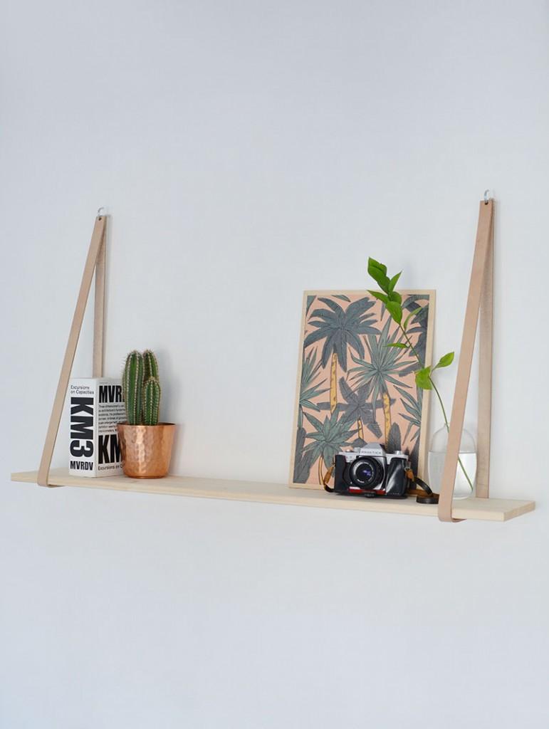 scandi-inspired-leather-strap-shelf