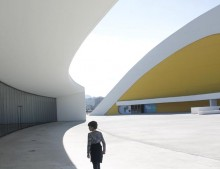 Centro Niemeyer en Aviles