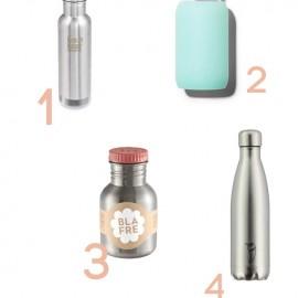 4 Botellas para alternativa al plástico