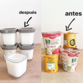 Antes y después. Zero Waste.