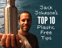 Jack Johnson y All at Once. Unidos contra el plástico.