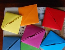 Notas de origami