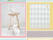 Decoración para habitaciones de bebés
