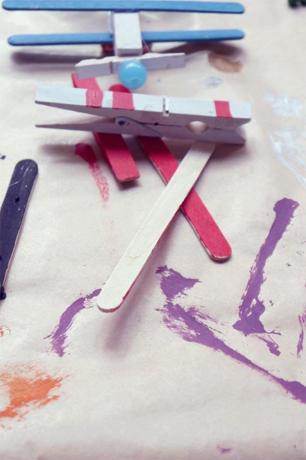 materiales pintando