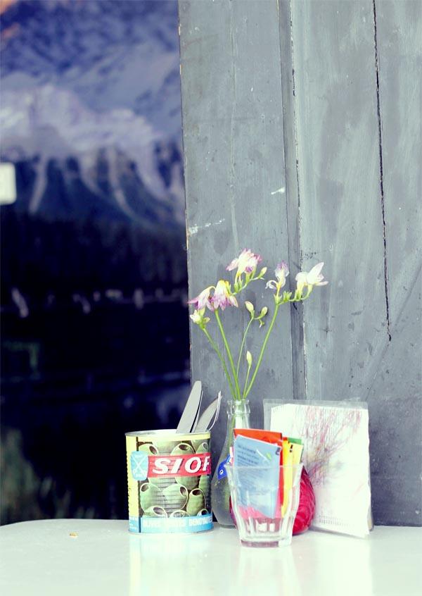 mesa flor meneer paprika