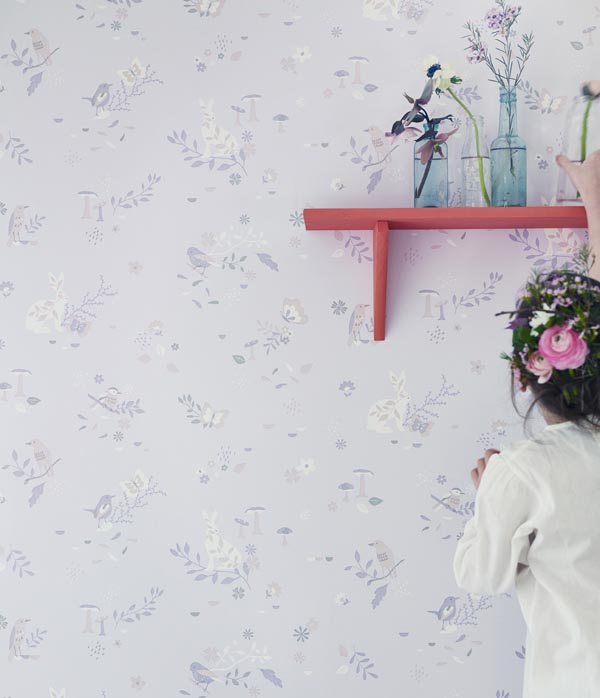Hibou Home_Secret Garden wallpaper_HH00701_Blush Pink_low res