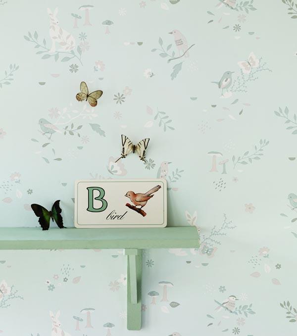 Hibou Home_Secret Garden wallpaper_HH00702_Waterlily_b_low res