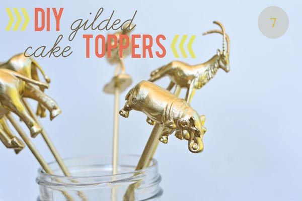 gold-animal-cake-toppers-diy-guilded-cake-toppers-via-oneyounglove-com