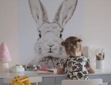 un rincón de una habitacion infantil más bonito imposible