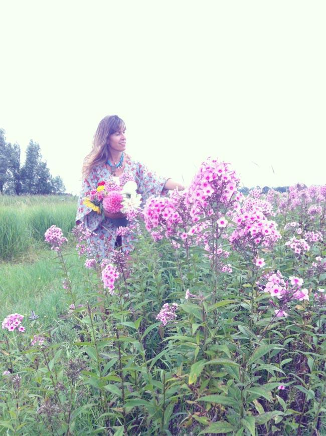 recoger flores8